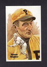 #5 HONUS WAGNER, Pirates ~ Perez-Steele Hall of Fame Art Postcard #326/10,000