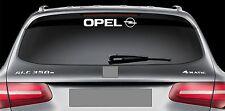 Rear Window Sticker fits Opel and Logo New Vinyl Decal Car Emblem Logo RW69
