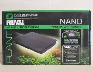 Fluval Plant LED 3.0 Bluetooth Nano Aquarium Light - 15W 7500K New in Box
