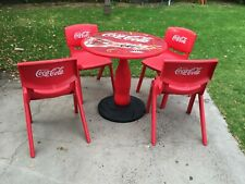 Coca Cola Table and 4 Chairs