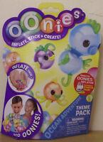 Oonies ~ Ocean Adventure Theme Pack ~ Inflate, Stick & Create
