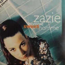 ZAZIE : HOMME SWEET HOMME ( REMIX ) - [ CD SINGLE ]