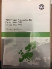 Brand New Genuine Volkswagen Navigation FX Europe West V7 CARTE SD 3C8051884CM
