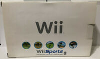 BRAND NEW Nintendo Wii White Console w/Wii Sports Game - Never Used !!! 🔥 🔥 🔥
