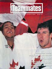 1997 Teammates Magazine (The Hockey Hall of Fame Journal): Canada World Juniors