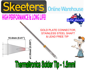 Thermaltronics Solder Tip - 1.5mm