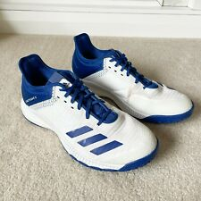 New listing Adidas Size 9 Medium White & Blue Crazy Flight X Volleyball Shoes Women's