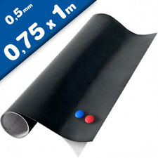 Magnettafel/Kreidetafel - Tafelfolie magnetisch selbstklebend 75x100cm +2 Kreide