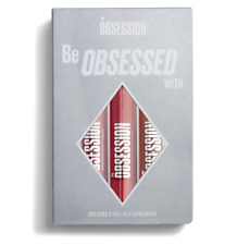 Obsession Be Obsessed with Lipgloss Collection Gift Set NEW