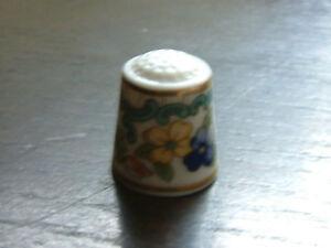 A Royal Doulton Thimble-Hand Gilded -Mint-Pristine