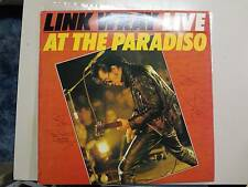 LINK WRAY:Link Wray Live At The Paradiso-U.S. LP 80 Viva PCV Autographed By Wray