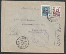 Spain covers 1938 cens Civil War Airmailcover Bilbao