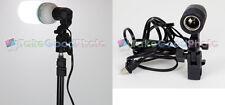 110/120V studio continuous light head E27 Light stand mount Socket Single USA