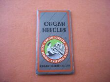 10 OVERLOCK SEWING NEEDLES DCX1 MY1023A 81X1 MANY SIZES