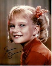 SUSAN OLSEN hand-signed THE BRADY BUNCH 8x10 uacc rd coa CINDY CLOSEUP in-person