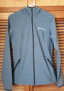 Columbia Sportswear Grey Hooded Jacket Sz S As NEW Condition