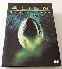 ALIEN QUADRILOGIA COLLECTOR S EDITION 9 DVD BOX FILM OTTIMO ITALIANO RARA!!!