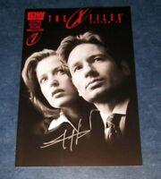the X-FILES season 10 #1 signed photo variant 3rd print JOE HARRIS IDW comic COA