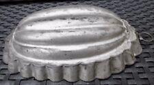 Alte  Backform  Puddingform Pastete Metall Blech um 1900  Sammler
