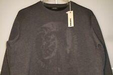 NEU DIESEL Pullover L Sweatshirt Hoody Hoodie Longsleeve Shirt Punk Punker black