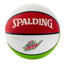 Spalding Nba Diet Mtn Mountain Dew Outdoor Basketball Official Size