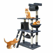 i.Pet Royal Grey Big Cat Scratching Post - 141cm