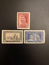 3 BOSNIA & HERZEGOVINA AUSTRIA STAMPS 1917 FERDINAND ASSASSINATION 1914 EX (ES)