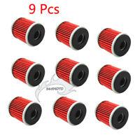 9x Oil Filter For YAMAHA YZ450F YZ250F WR250F WR450F YZF R125 MBK 125 SKYCRUISER