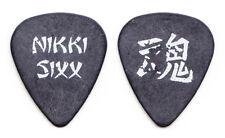 Motley Crue Nikki Sixx Gray Guitar Pick - 1997 Motley Crue vs the Earth Tour