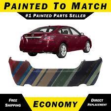 NEW Painted to Match - Rear Bumper Cover for 2013 2014 2015 Nissan Altima Sedan
