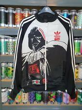 Adidas Star Wars Darth Vader Mens Small Crew Neck Tracksuit Jacket Track Top
