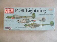 1/72 SCALE PROFILE SERIES P-38 LIGHTNING MODEL KIT BY MPC MIB 2-1514