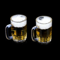 1:6 Dollhouse Miniature Drink of Beer Model Pretend Play Liquid Toy FT