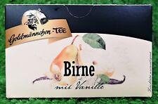(5,09�'�/100g) Goldmännchen Tee BIRNE MIT VANILLE  Einzelversiegelung 20 Beutel
