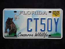 FLORIDA - Conserve Wildlife - USA Auto Kennzeichen - Original - Top! CT50Y