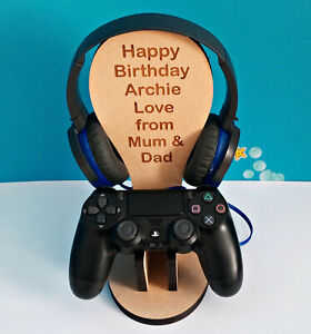 Personalised Birthday Gift PS4,PS5 and Xbox game holder stand PlayStation