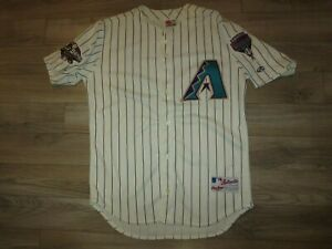 Arizona Diamondbacks Dbacks MLB Premier Rawlings World Series Game Jersey 44