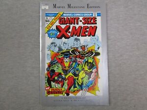 Marvel Milestone Edition Giant Size X-Men 1 Comic Book reprint facsimile 1991