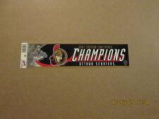 NHL Senators 2007 Eastern Conf.Champs Bumper Sticker