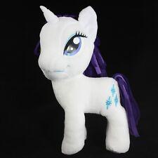 My Little Pony Rarity Plush Stuffed Animal White Unicorn Diamonds 2012 MLP