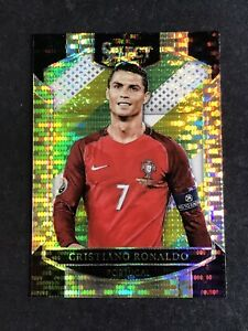 2016 Panini Select Multi Color Prizm #1 CRISTIANO RONALDO Portugal Soccer Card