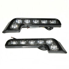 Universal L-Shape 6 LED DRL Daytime Running Lights Fog Light Headlight Lamp