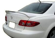 Mazda 6 2003 2004 2005 2006 2007 2008 Spoiler Unpainted Factory Style