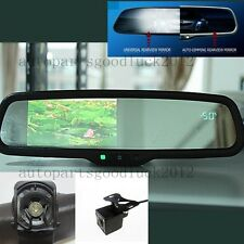 "Auto dimming rearview mirror+4.3"" LCD+compass+temp+camera,fit Hyundai,Ssongyong"