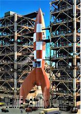Tintin - le pas de tir de la fusée - affiche plastifiée