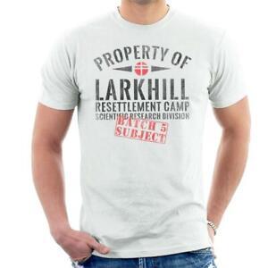 Property Of Larkhill Resettlement Camp V For Vendetta Men's T-Shirt