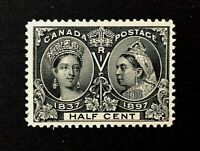 Canadian Stamp, Scott #50 1/2c 1897 - PSE graded Mint/SDOG.