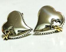 Scott Kay 8g Sterling Silver Hearts 14k Rings Earrings Women Lady Gift NWT SALE!