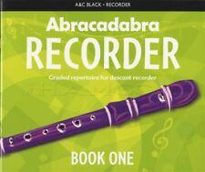 Abracadabra Descant Recorder Book One Sheet Music Graded Repertoire Method