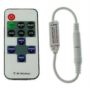 Mini LED RF Controller 10Key Fernbedienung 12...24V 144W für einfarbige LED Stre